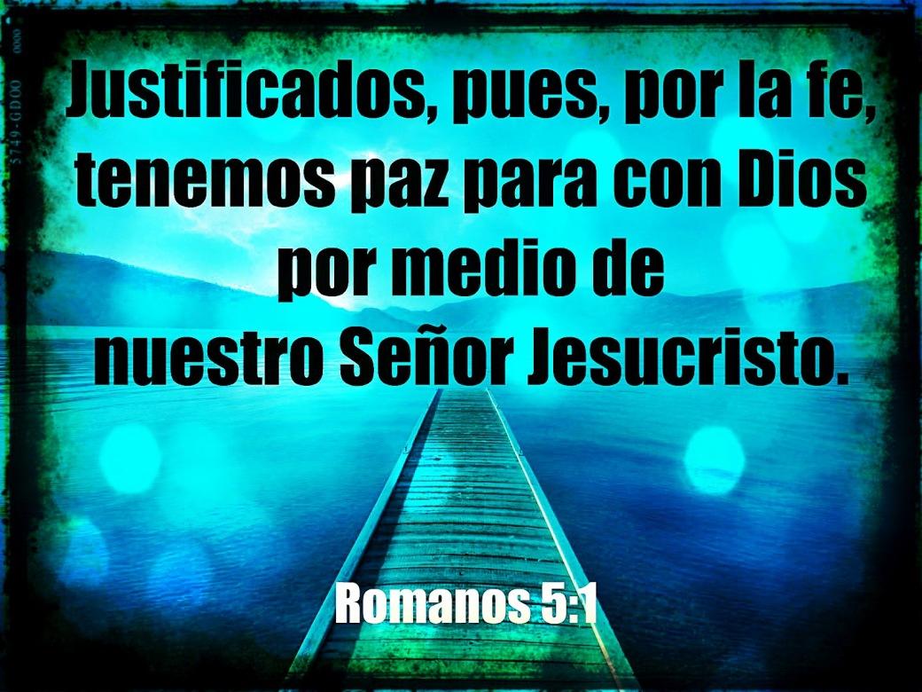 paz para con Dios